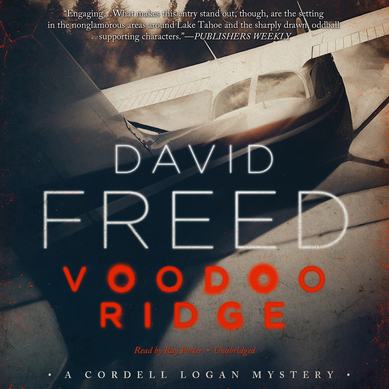 Printable Voodoo Ridge: A Cordell Logan Mystery Audiobook Cover Art