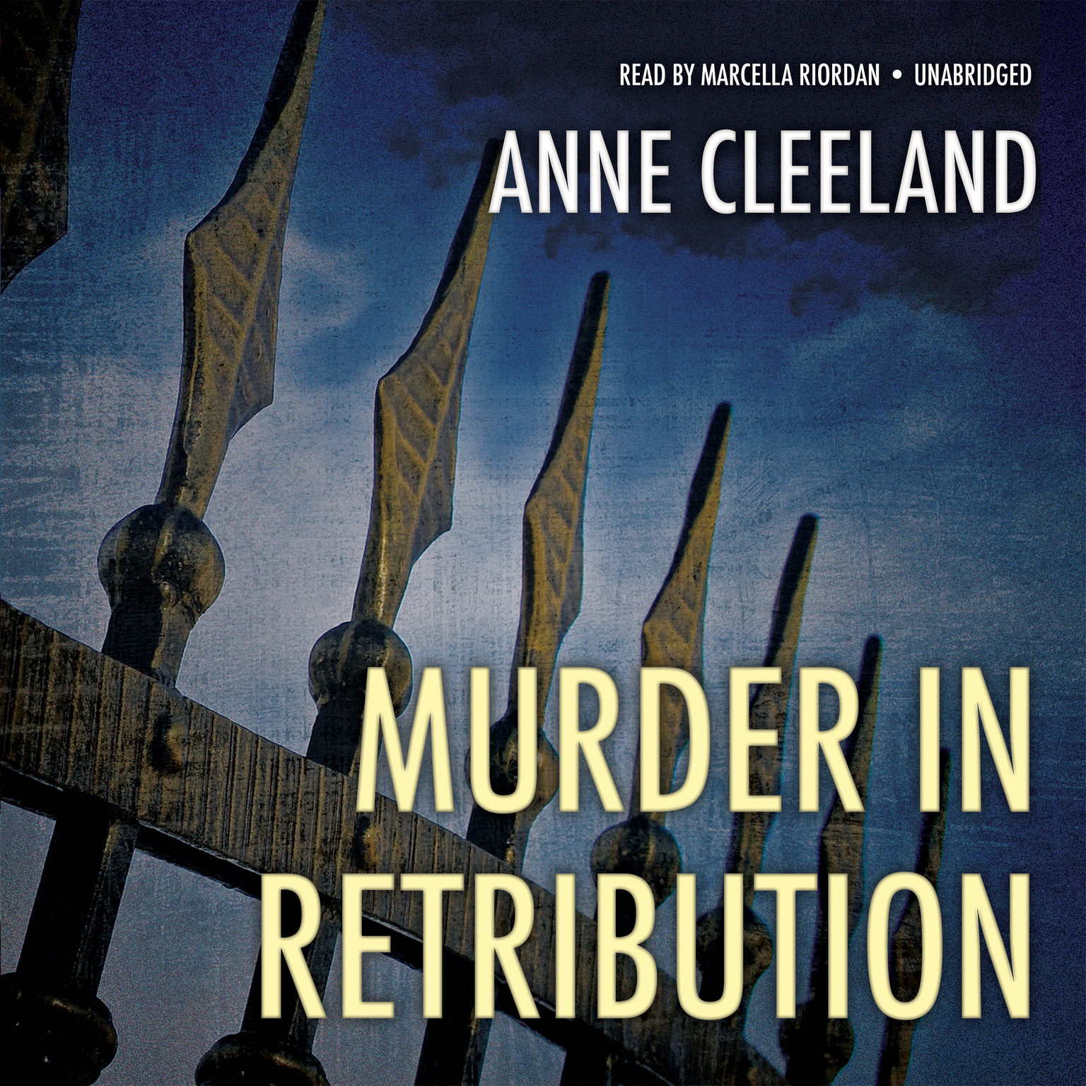 Printable Murder in Retribution Audiobook Cover Art