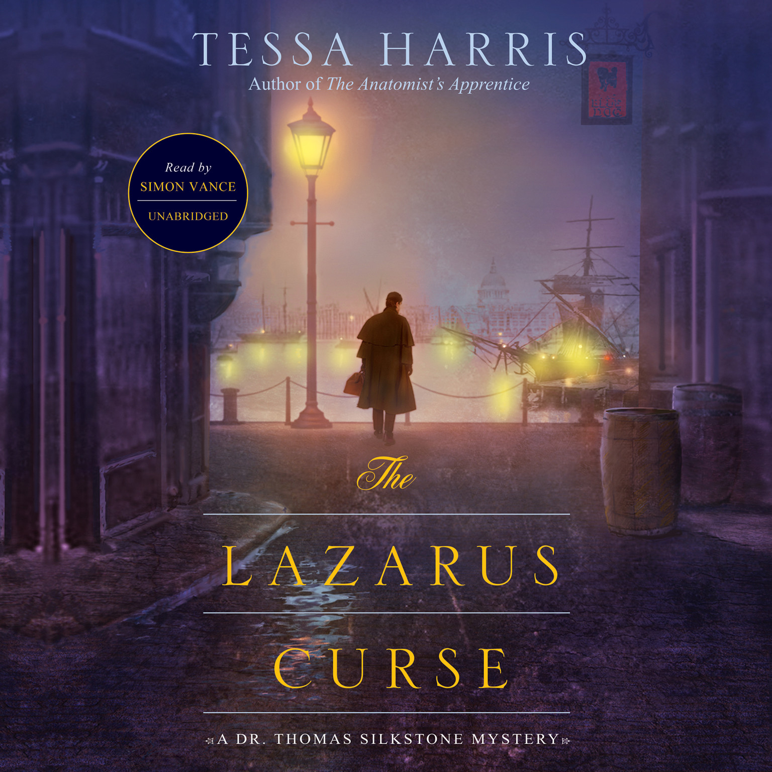 Printable The Lazarus Curse: A Dr. Thomas Silkstone Mystery Audiobook Cover Art