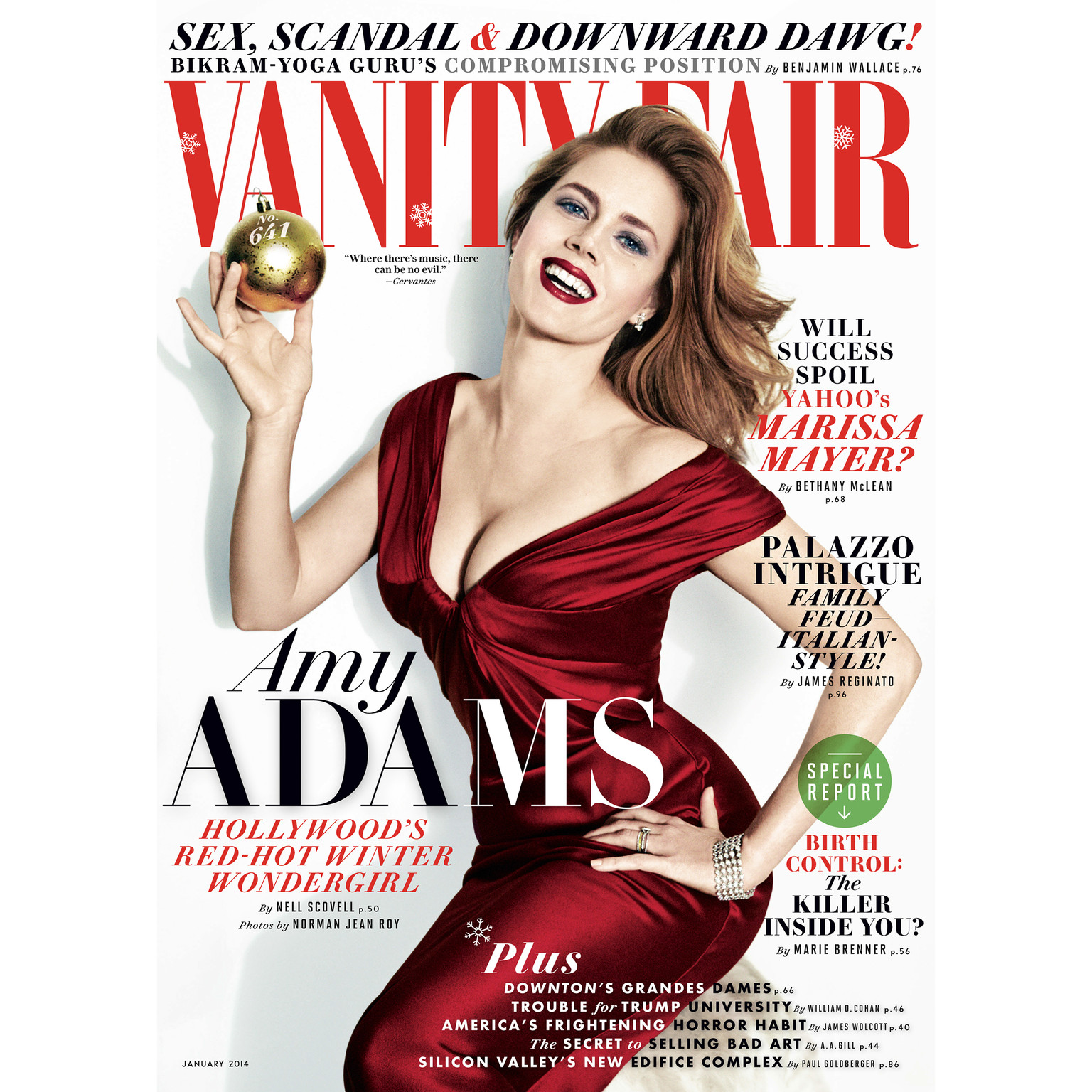 Printable Vanity Fair: January 2014 Issue Audiobook Cover Art
