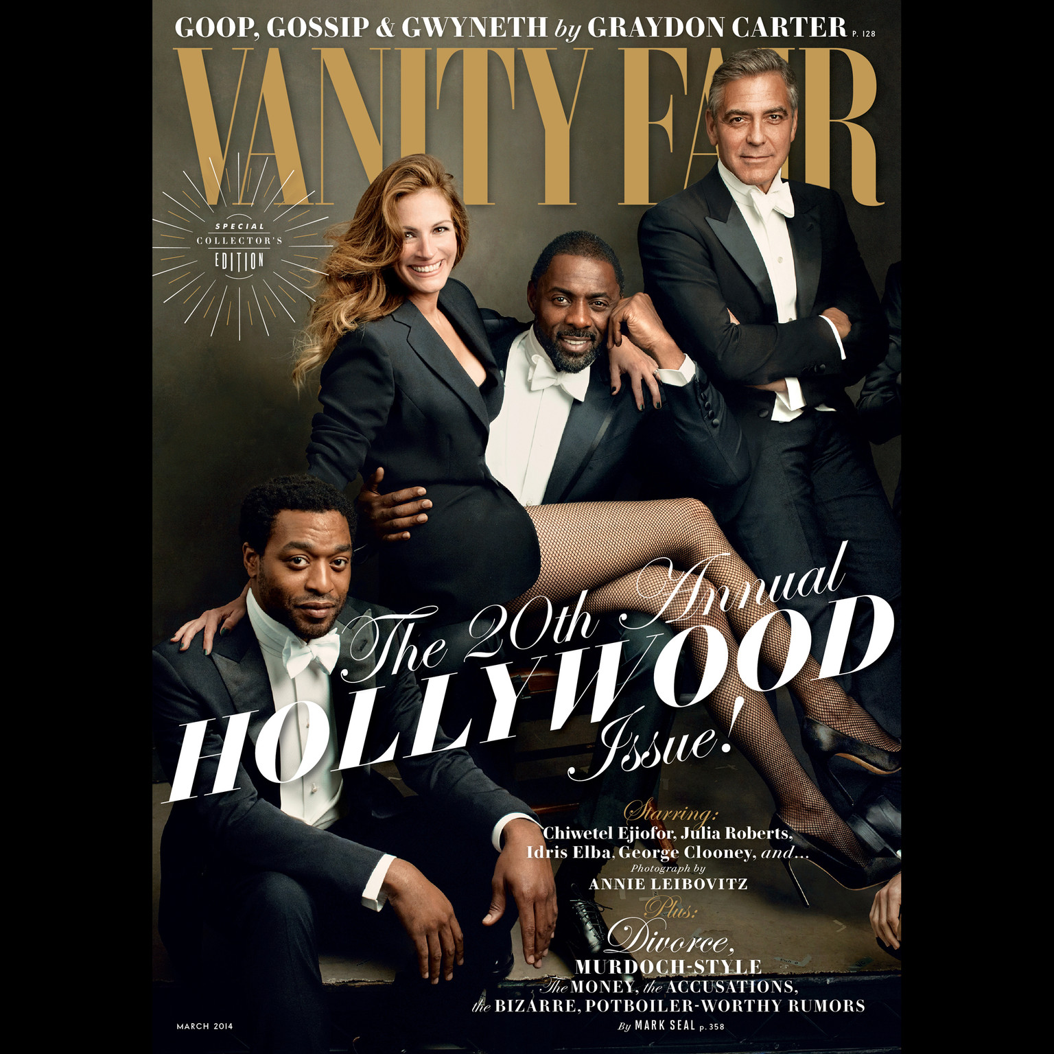 Printable Vanity Fair: March 2014 Issue Audiobook Cover Art
