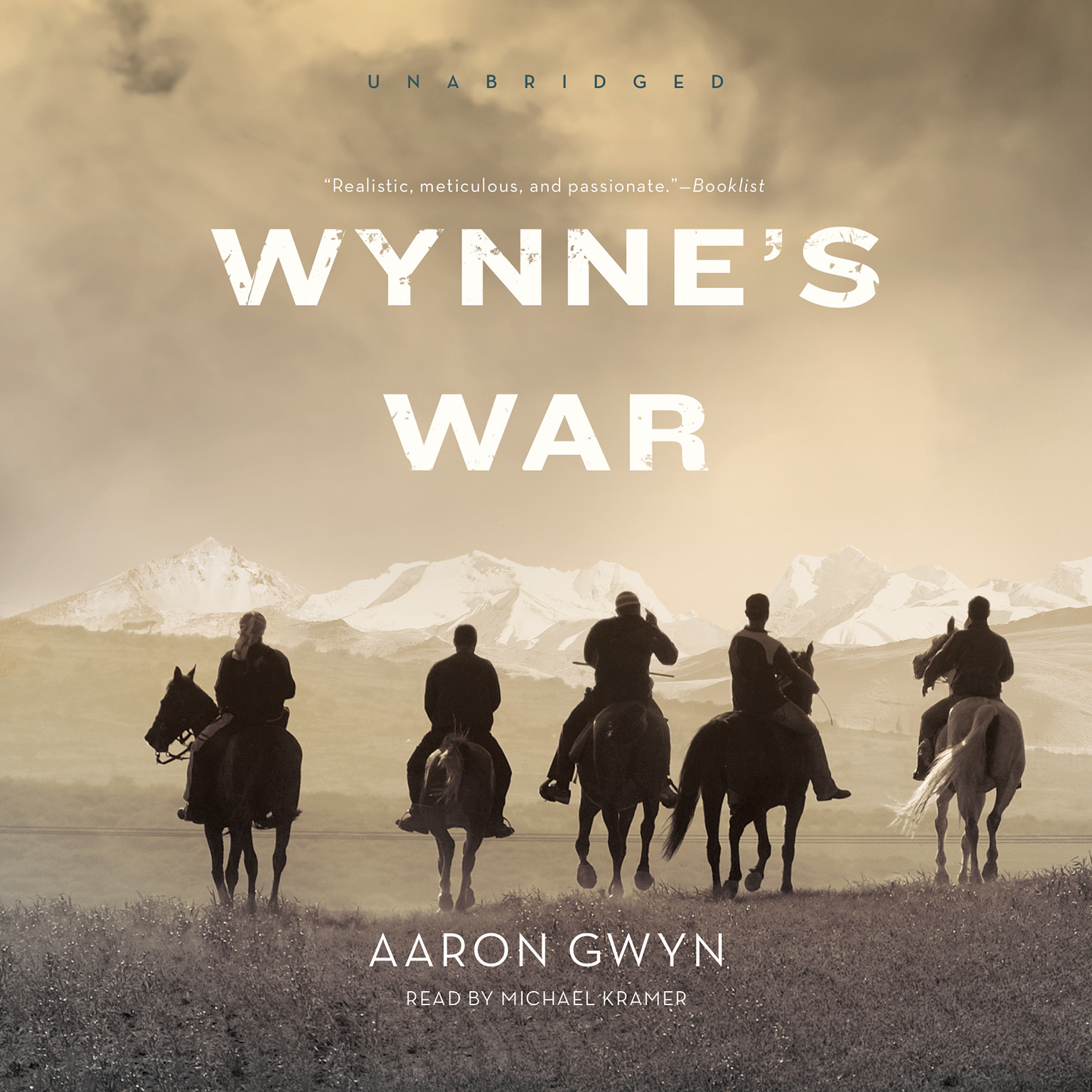 Printable Wynne's War Audiobook Cover Art