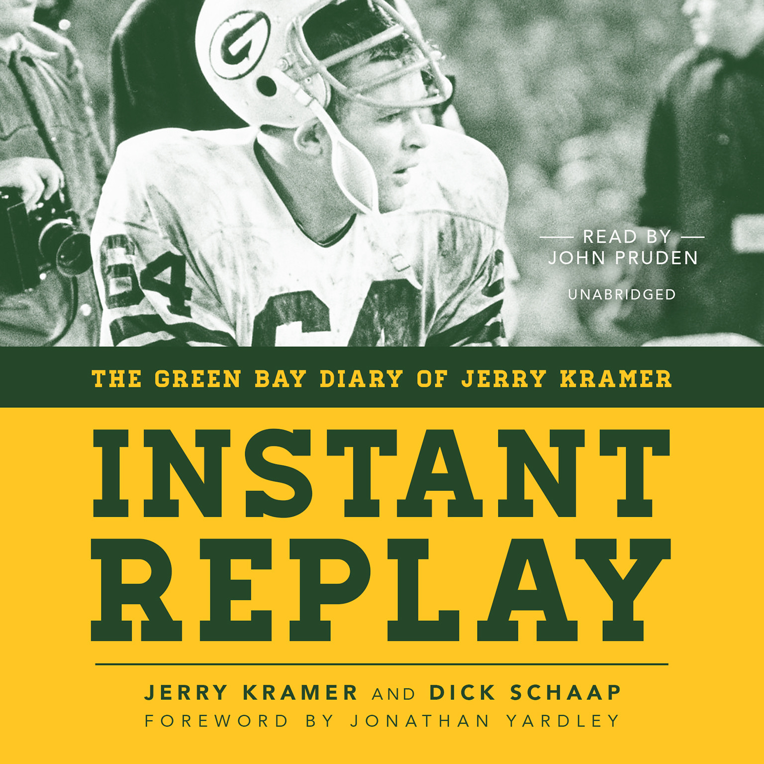 Printable Instant Replay: The Green Bay Diary of Jerry Kramer Audiobook Cover Art