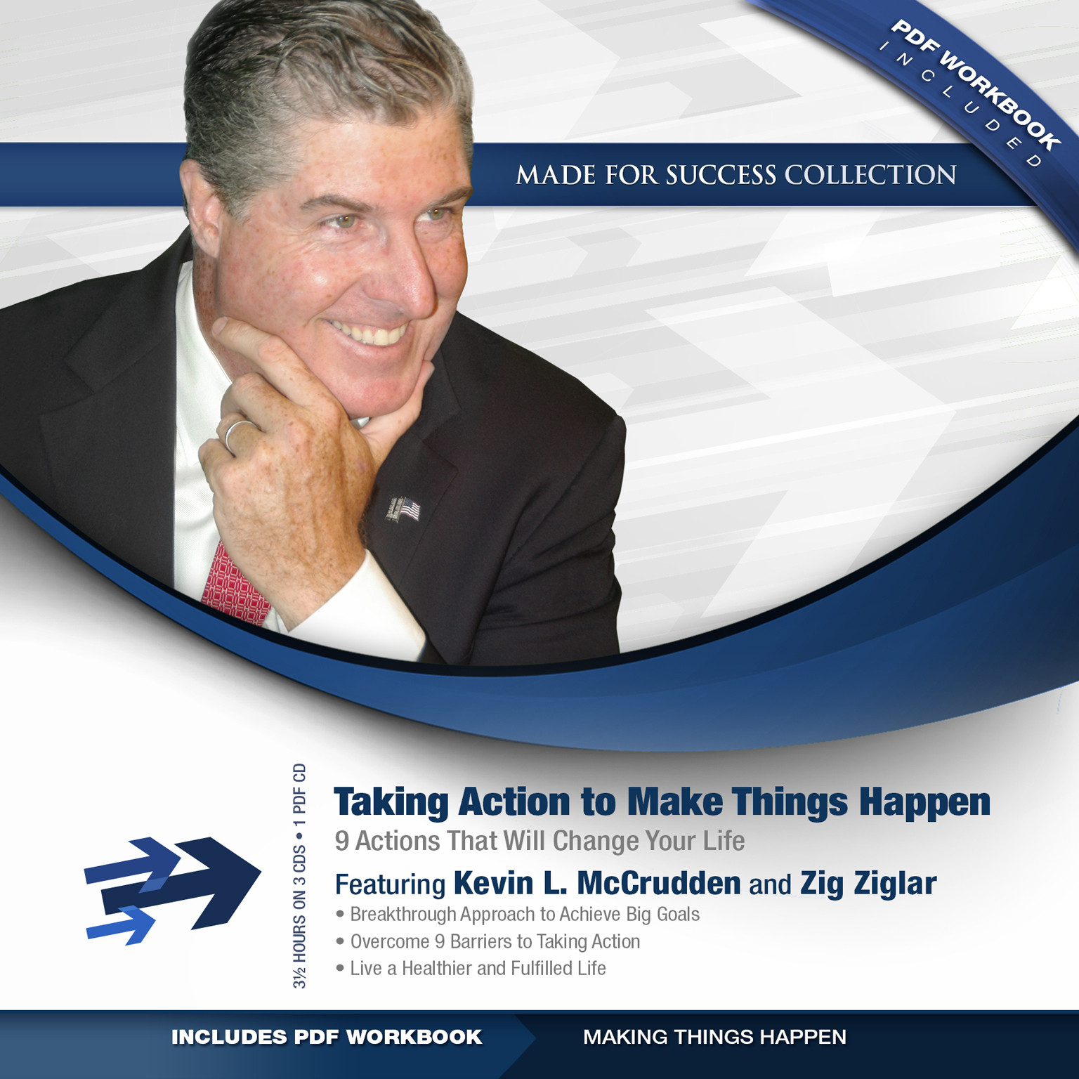 Printable Taking Action to Make Things Happen: 9 Actions That Will Change Your Life Audiobook Cover Art