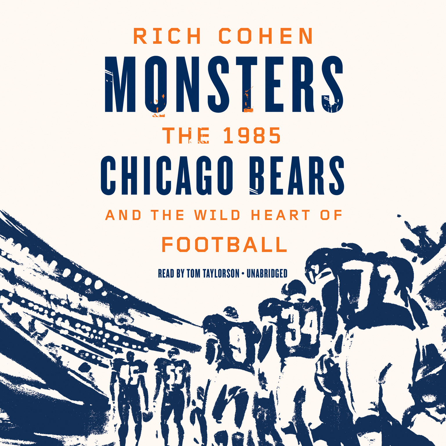 Printable Monsters: The 1985 Chicago Bears and the Wild Heart of Football Audiobook Cover Art