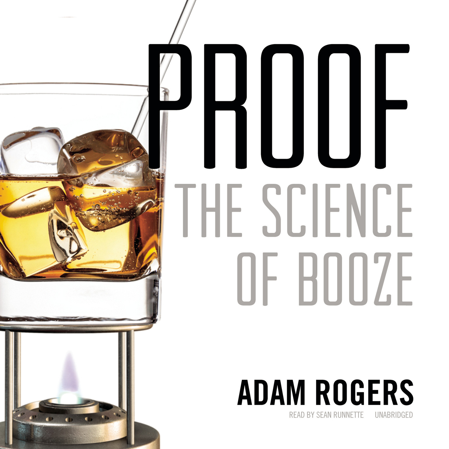 Printable Proof: The Science of Booze Audiobook Cover Art