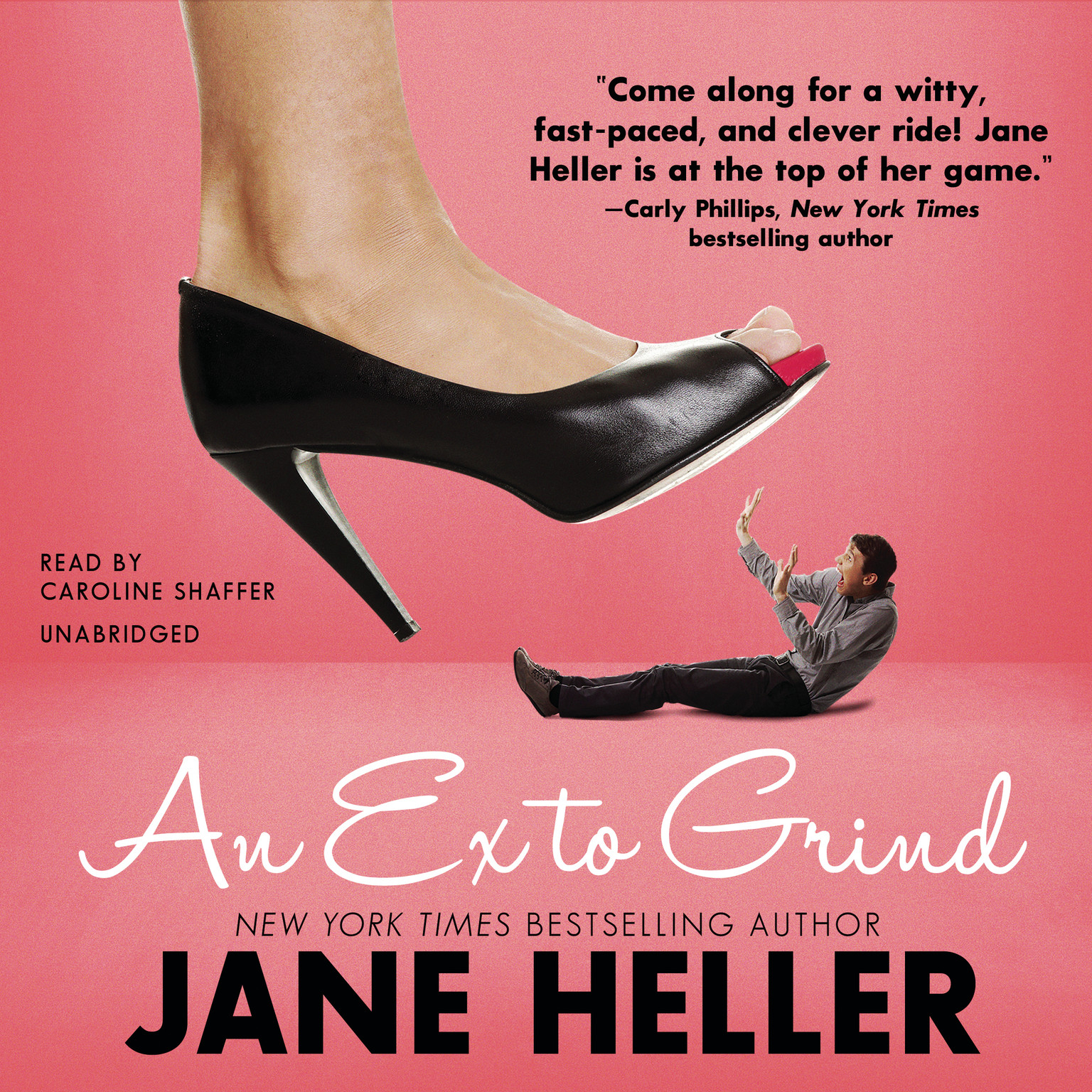 Printable An Ex to Grind Audiobook Cover Art