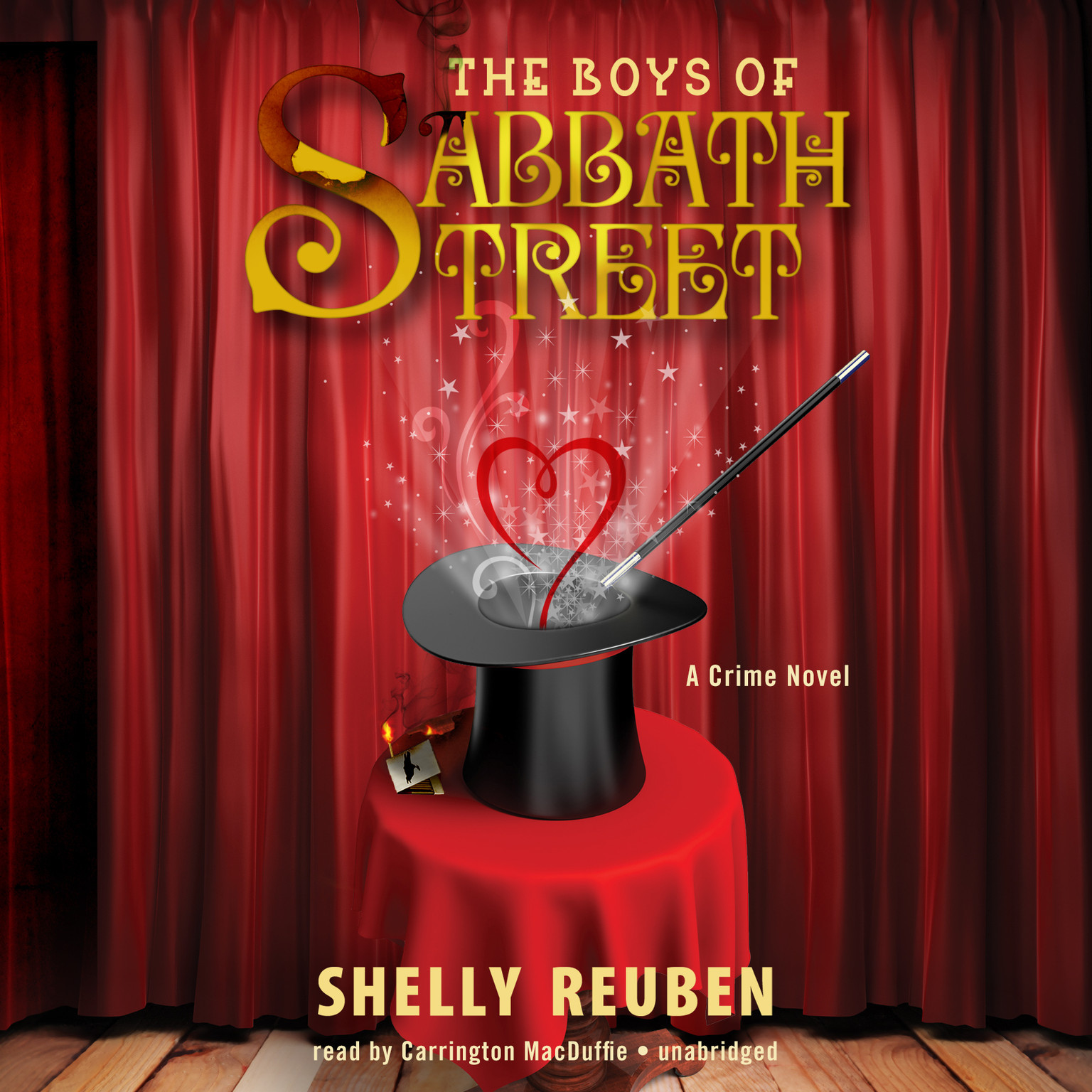 Printable The Boys of Sabbath Street: A Crime Novel Audiobook Cover Art
