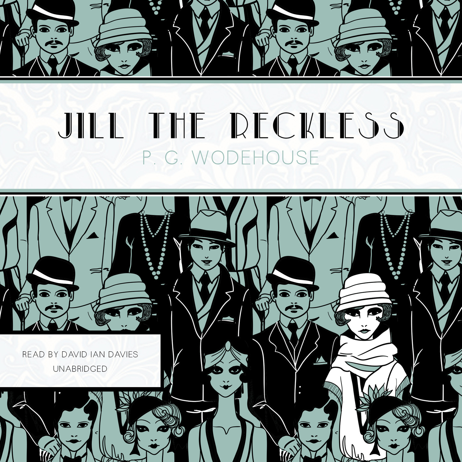 Printable Jill the Reckless Audiobook Cover Art