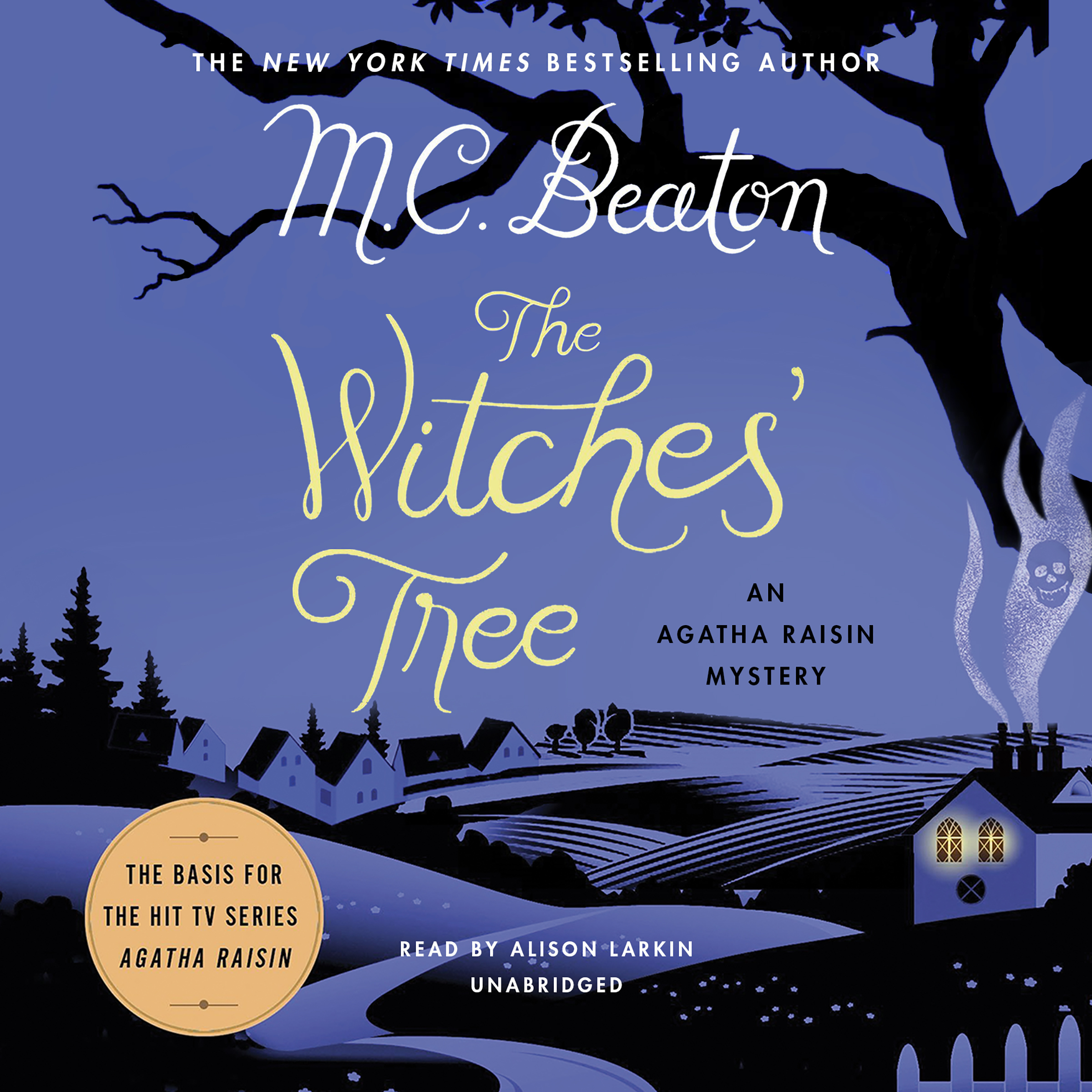 Printable The Witches' Tree: An Agatha Raisin Mystery Audiobook Cover Art