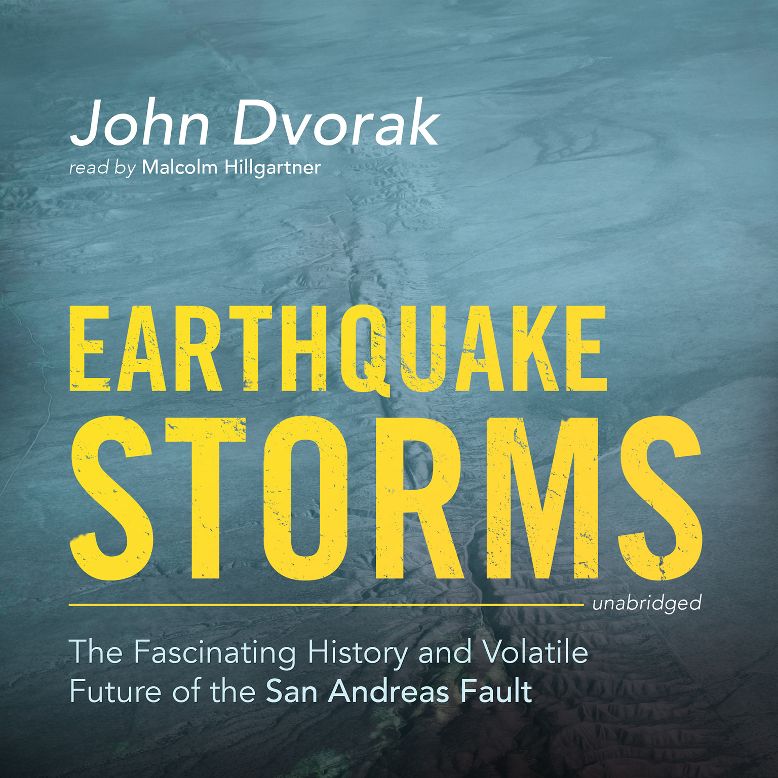 Printable Earthquake Storms: The Fascinating History and Volatile Future of the San Andreas Fault Audiobook Cover Art