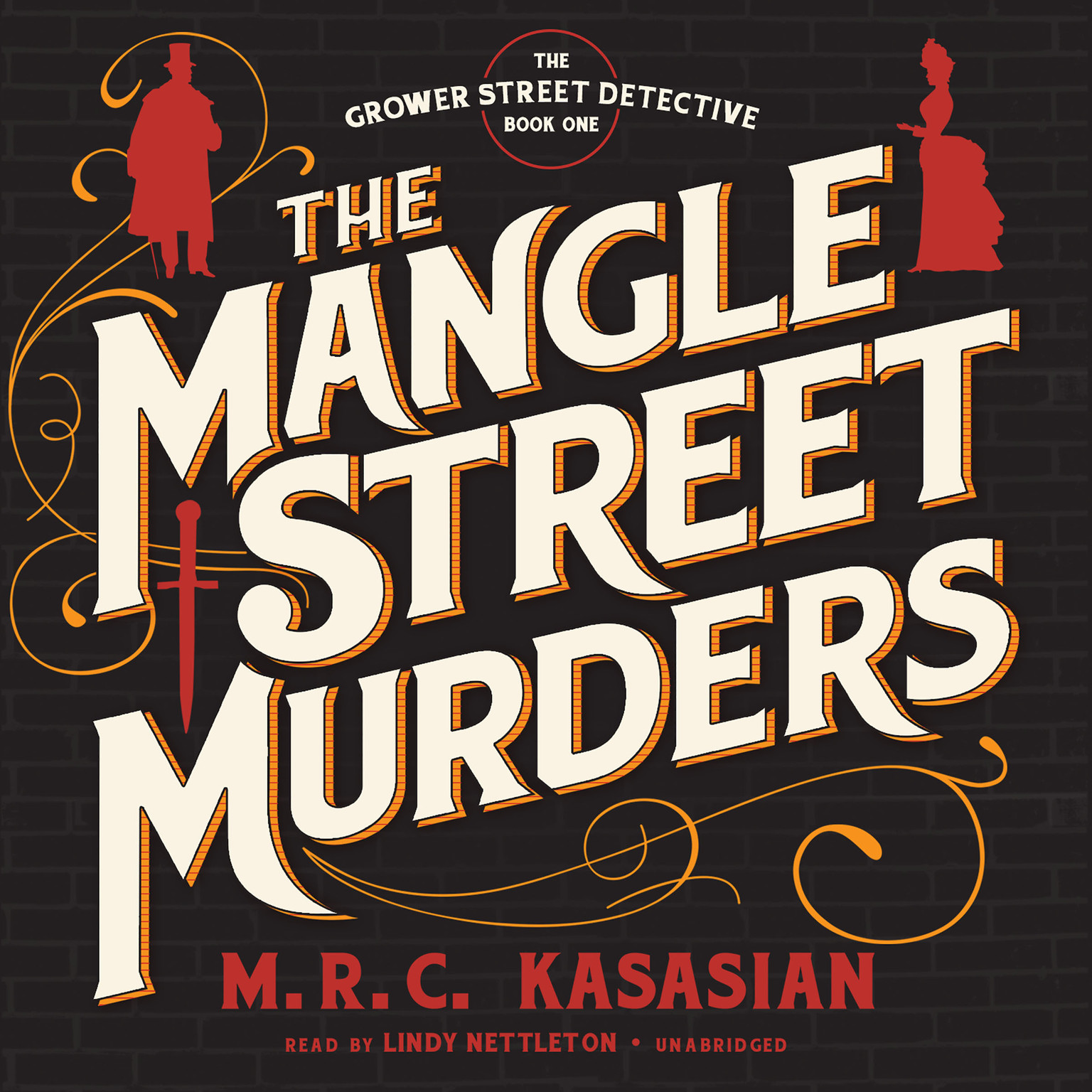 Printable The Mangle Street Murders Audiobook Cover Art