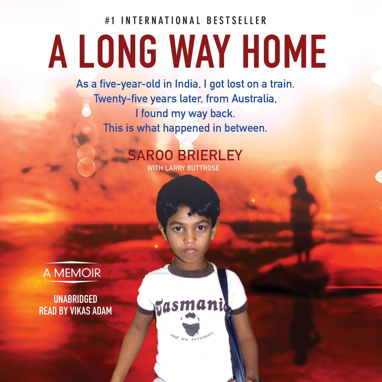 Printable A Long Way Home Audiobook Cover Art