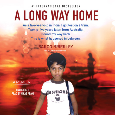 A Long Way Home Audiobook, by Saroo Brierley