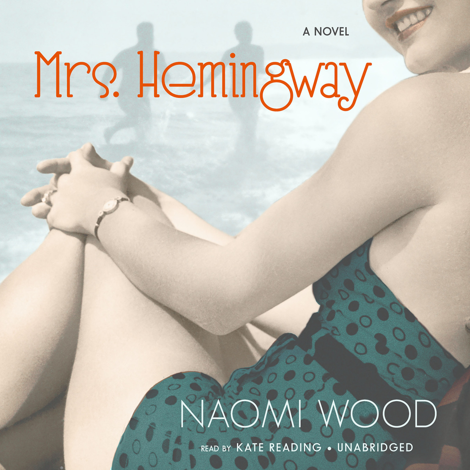 Printable Mrs. Hemingway Audiobook Cover Art
