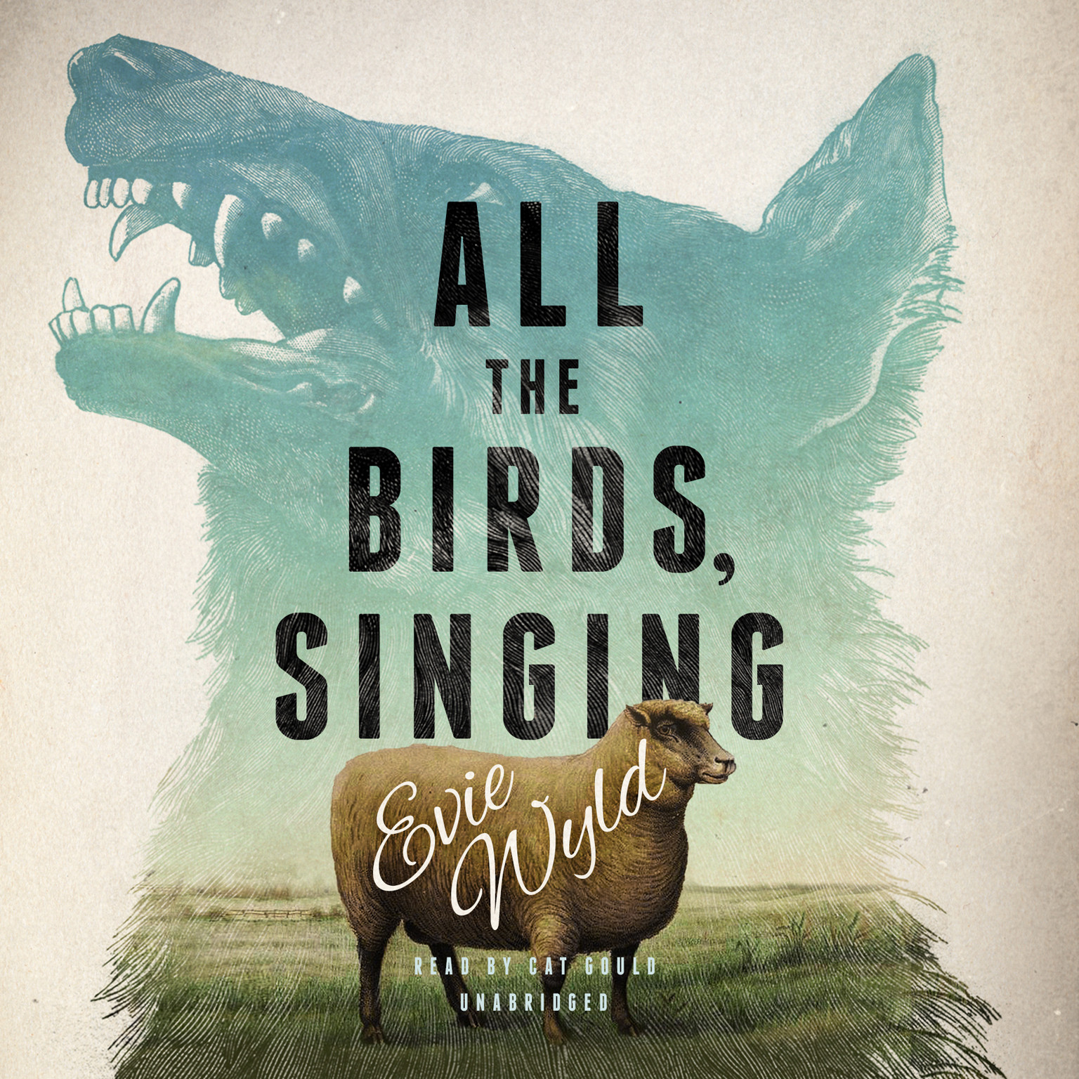 Printable All the Birds, Singing Audiobook Cover Art