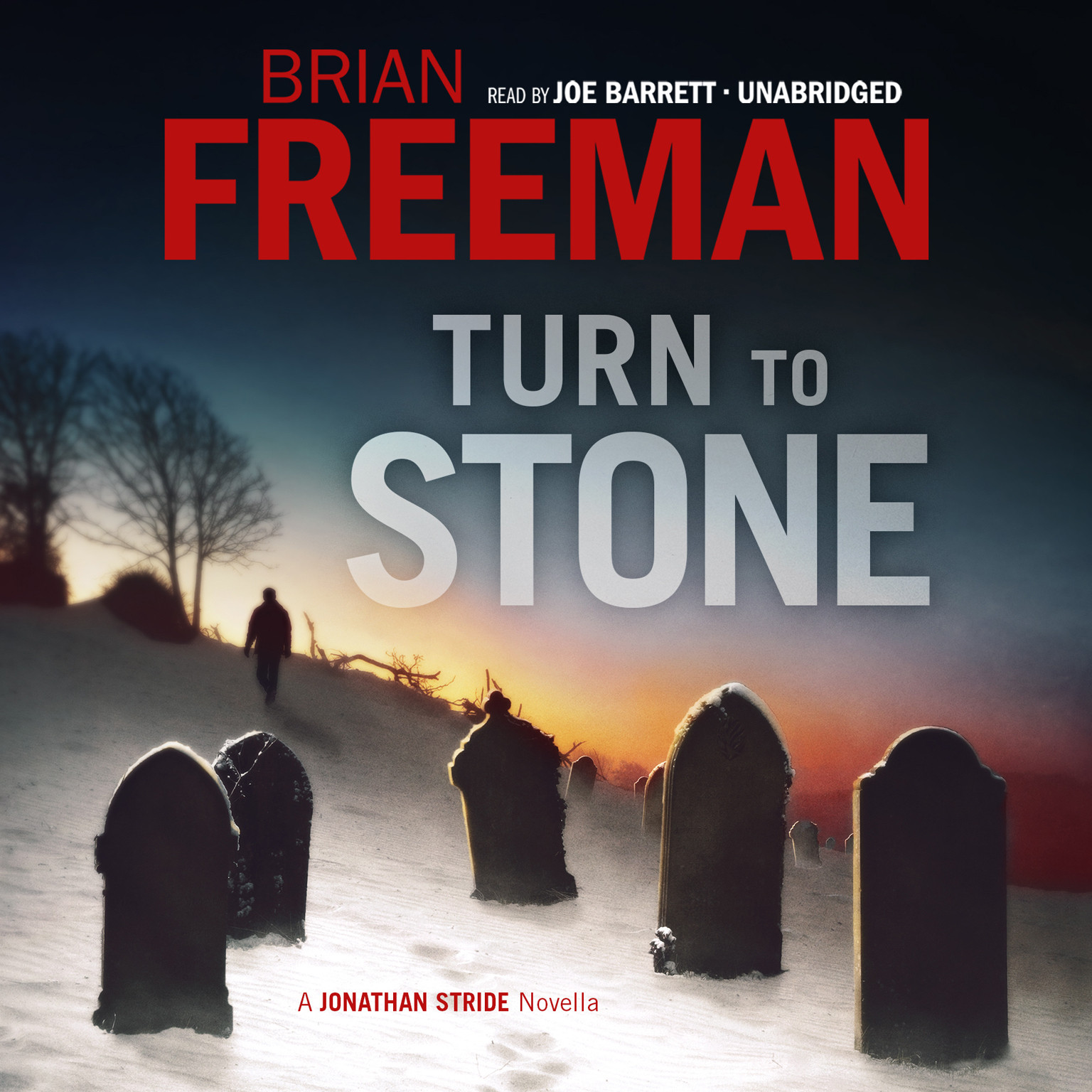 Printable Turn to Stone: A Jonathan Stride Novella Audiobook Cover Art