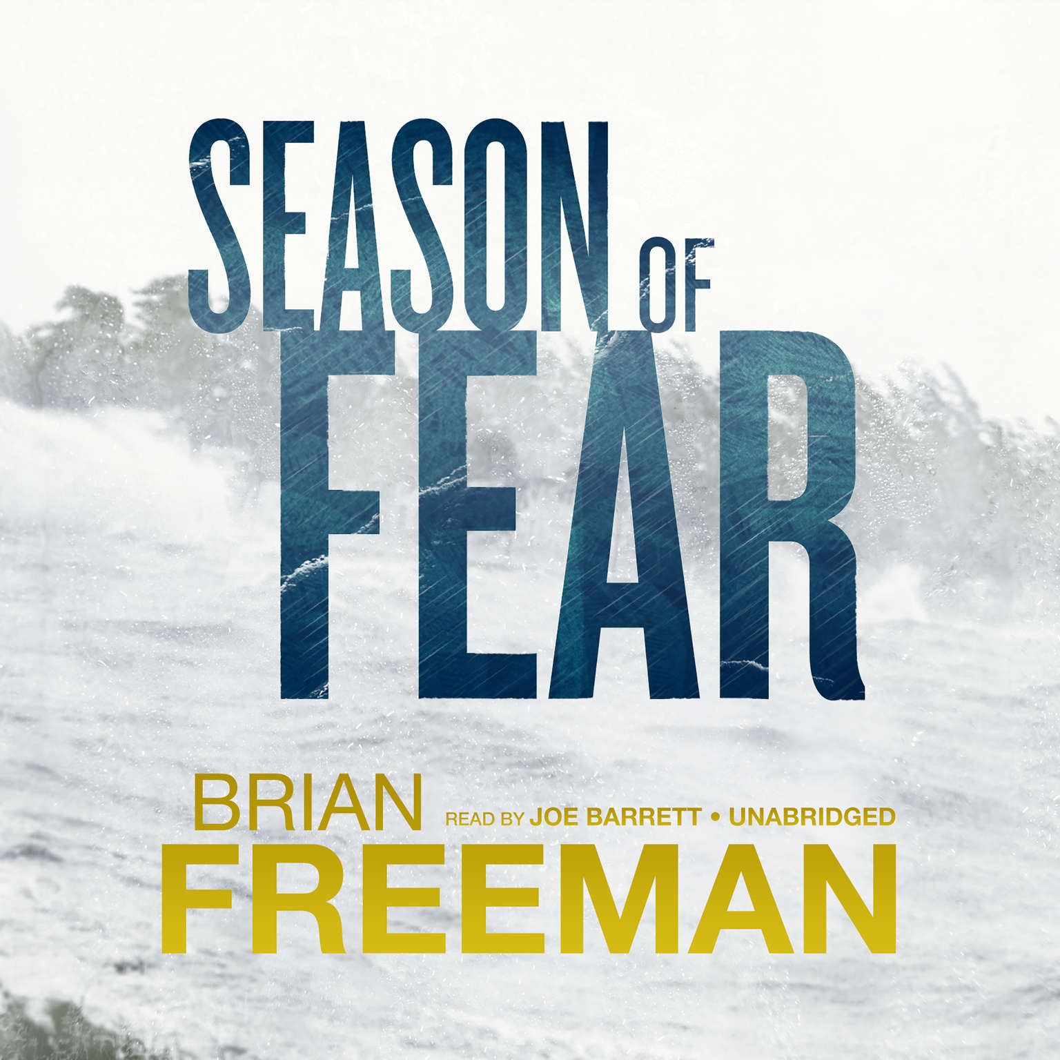 Printable Season of Fear Audiobook Cover Art