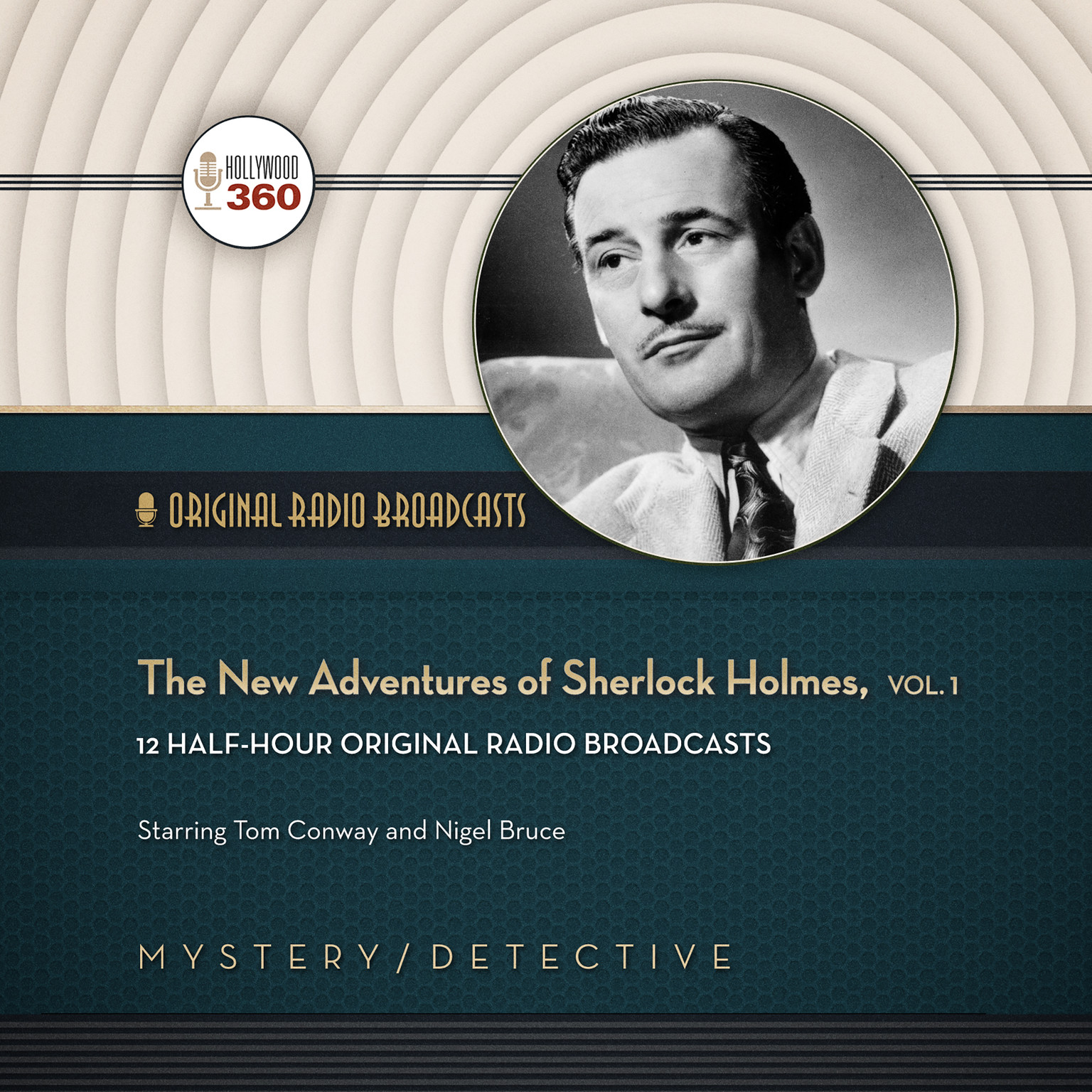 Printable The New Adventures of Sherlock Holmes, Vol. 1 Audiobook Cover Art