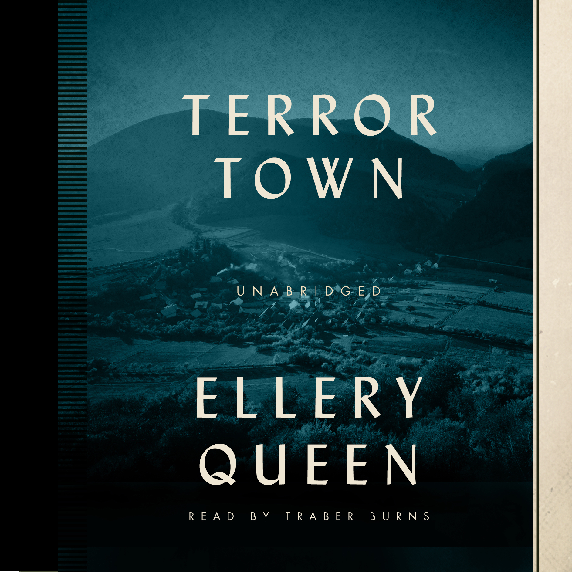 Printable Terror Town Audiobook Cover Art