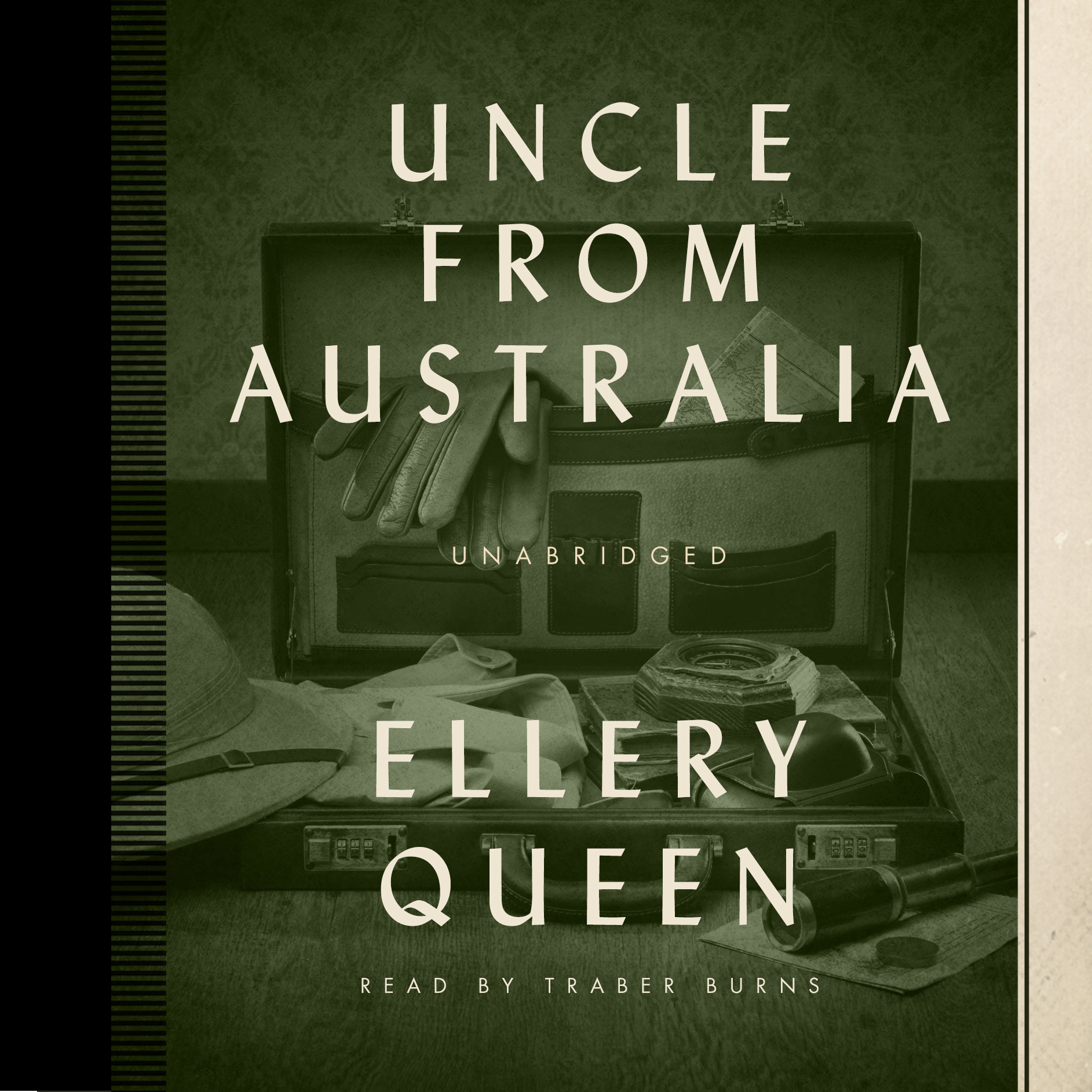 Printable Uncle from Australia Audiobook Cover Art