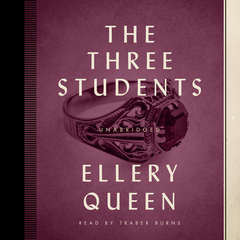 The Three Students Audiobook, by Ellery Queen