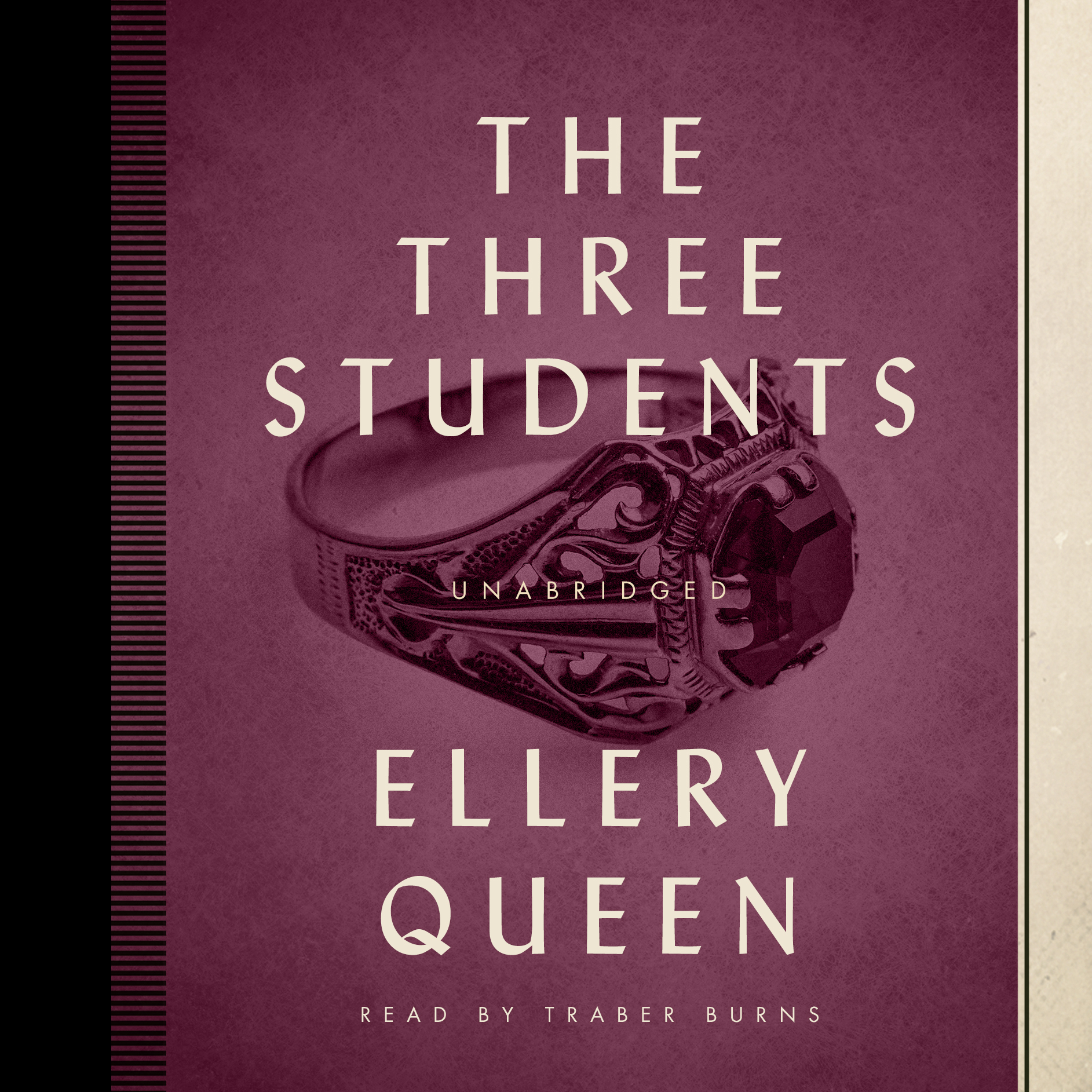 Printable The Three Students Audiobook Cover Art