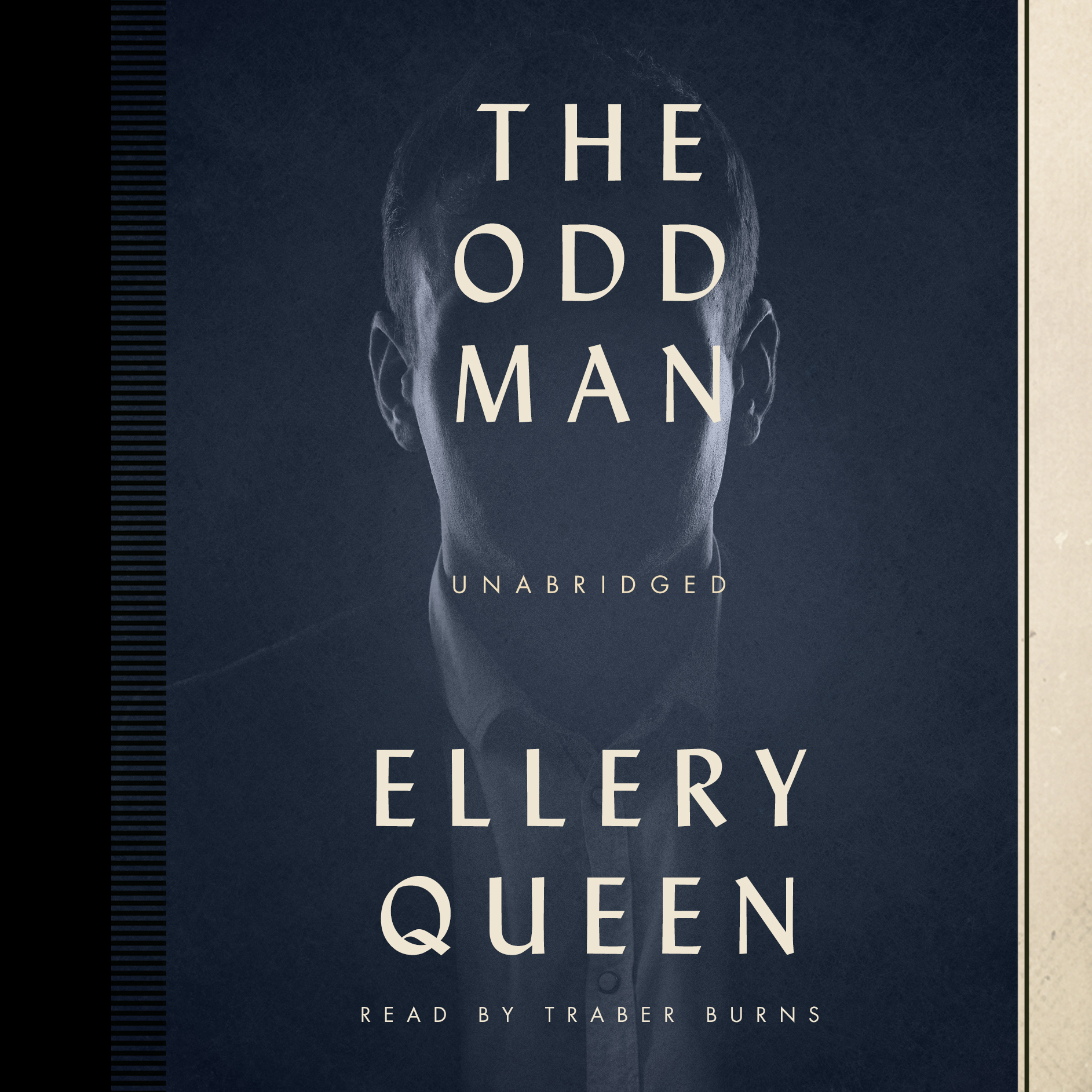 Printable The Odd Man Audiobook Cover Art
