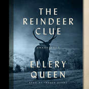 The Reindeer Clue Audiobook, by Ellery Queen