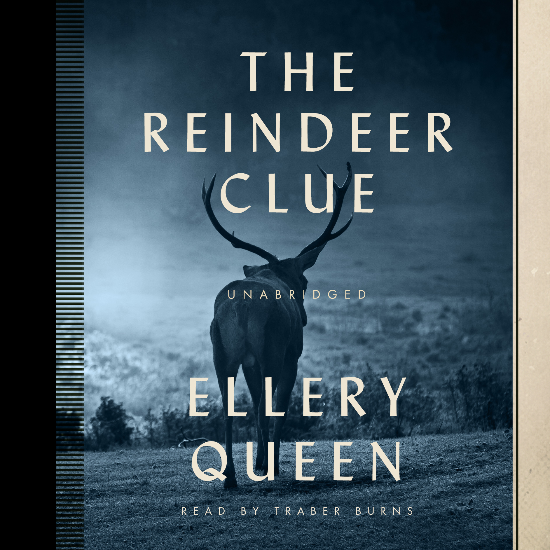 Printable The Reindeer Clue Audiobook Cover Art
