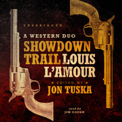 Showdown Trail: A Western Duo Audiobook, by Jon Tuska, Louis L'Amour