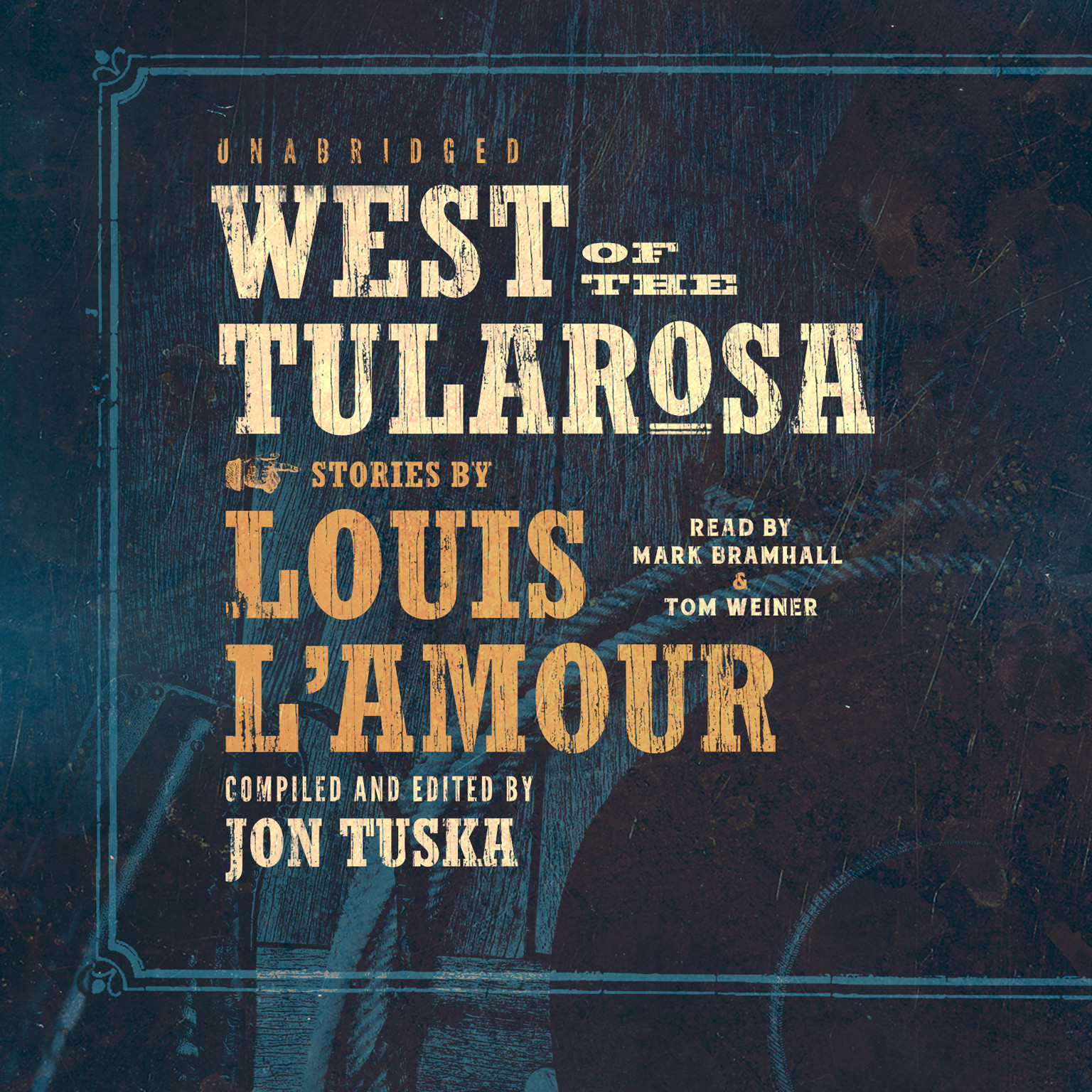 Printable West of the Tularosa Audiobook Cover Art