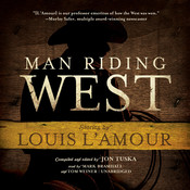 Man Riding West Audiobook, by Jon Tuska