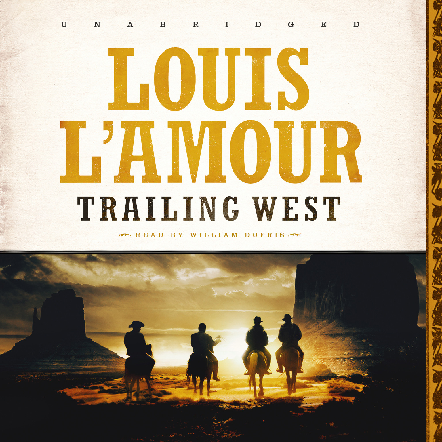 Printable Trailing West Audiobook Cover Art