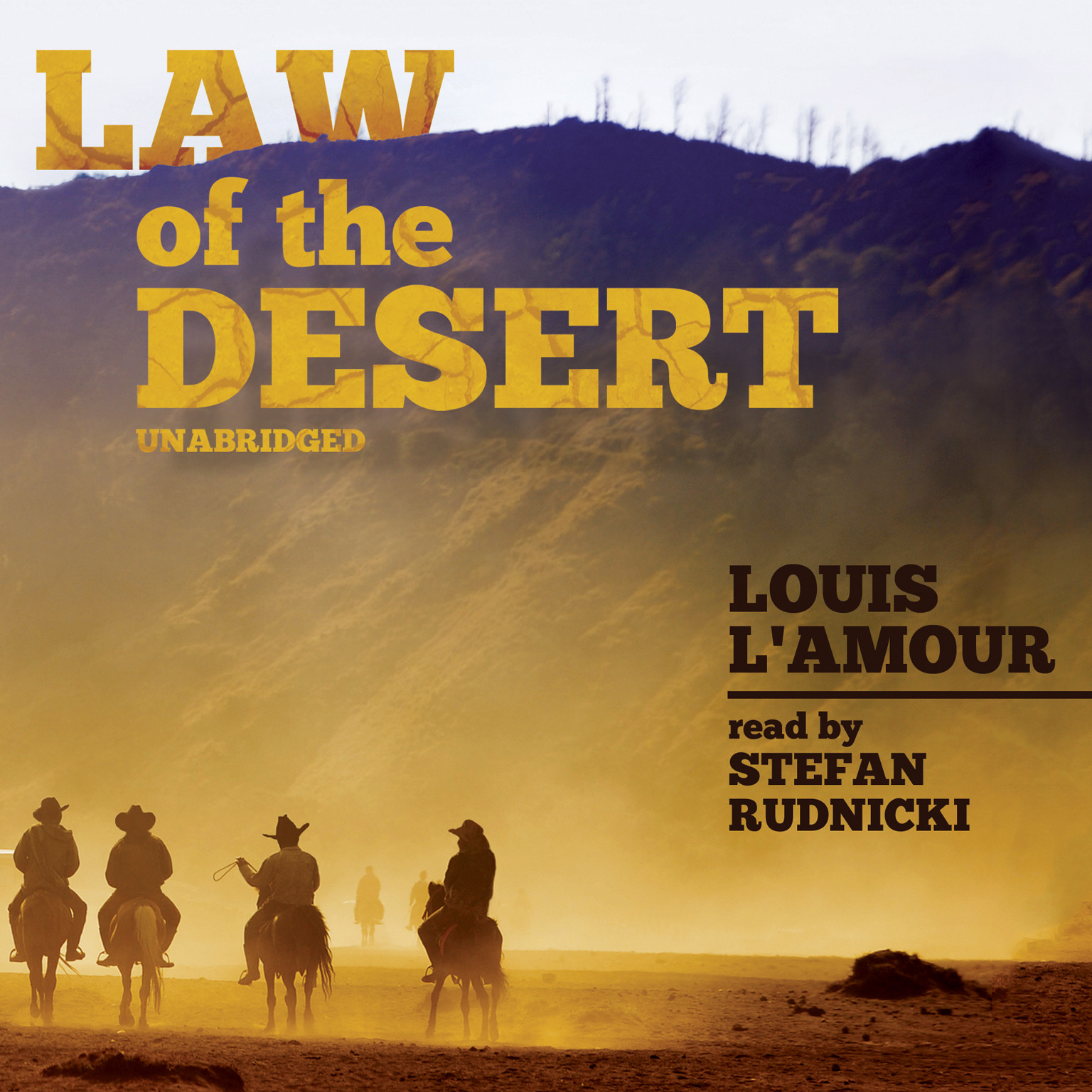 Printable Law of the Desert Audiobook Cover Art