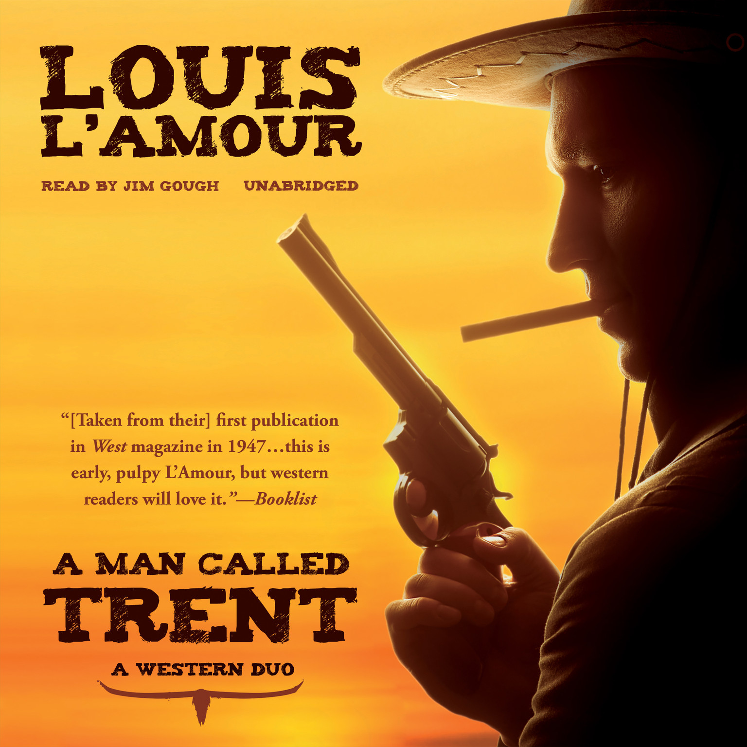Printable A Man Called Trent: A Western Duo Audiobook Cover Art