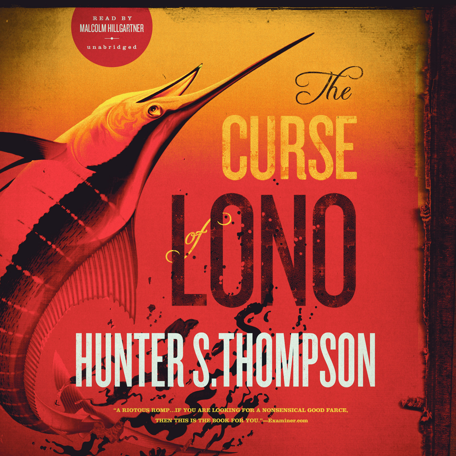 Printable The Curse of Lono Audiobook Cover Art