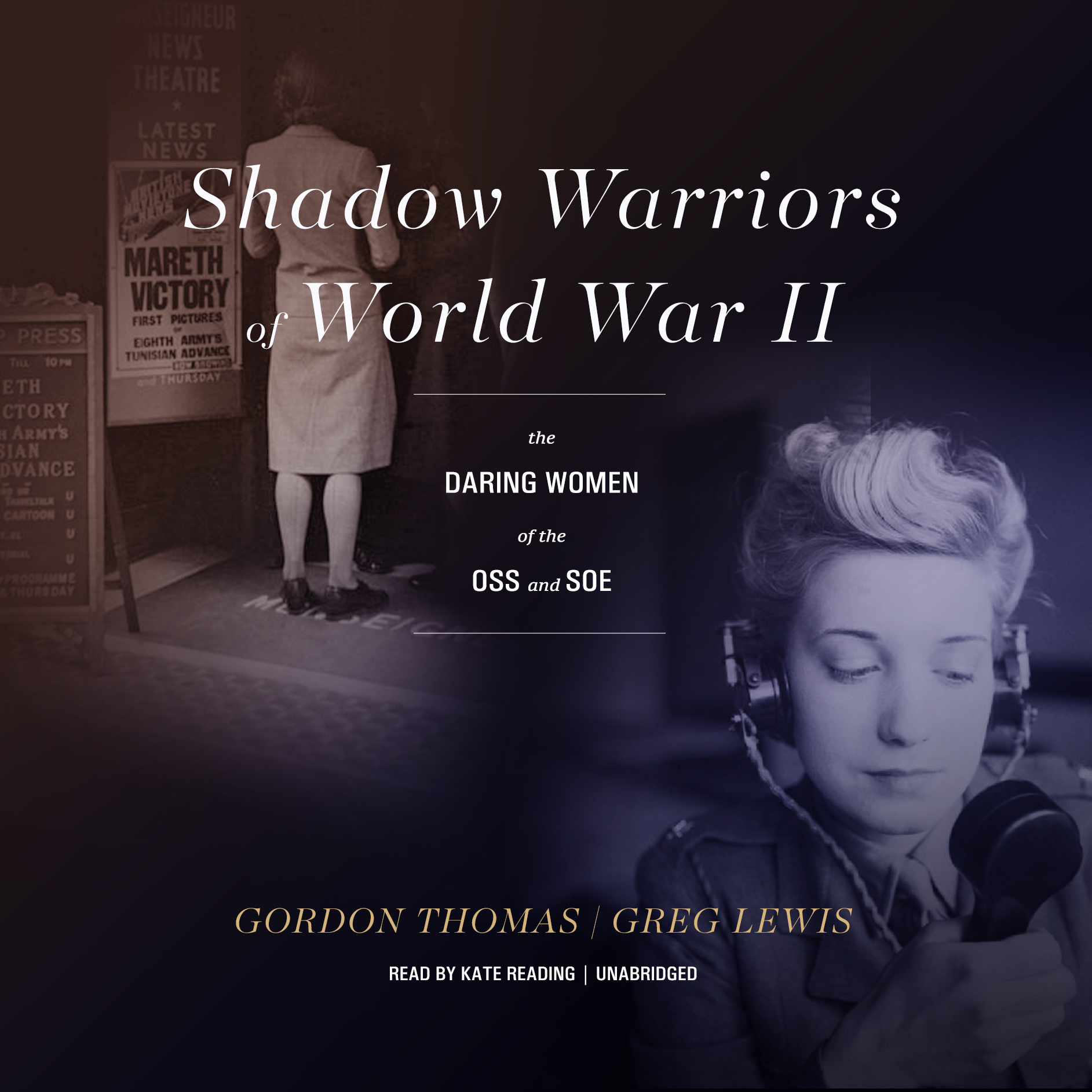 Printable Shadow Warriors of World War II: The Daring Women of the OSS and SOE Audiobook Cover Art