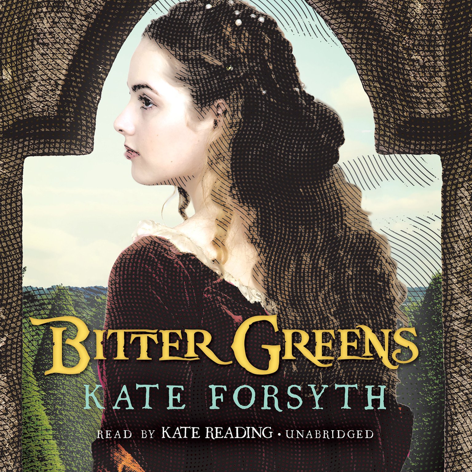 Printable Bitter Greens Audiobook Cover Art