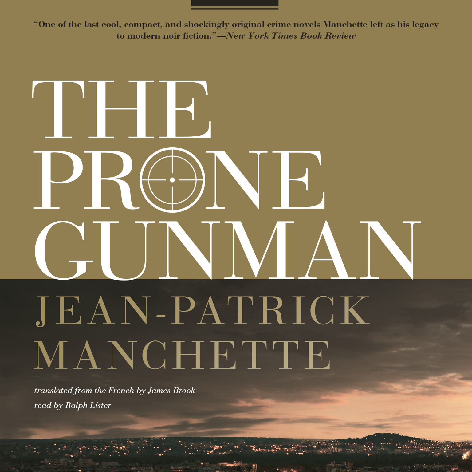 Printable The Prone Gunman Audiobook Cover Art