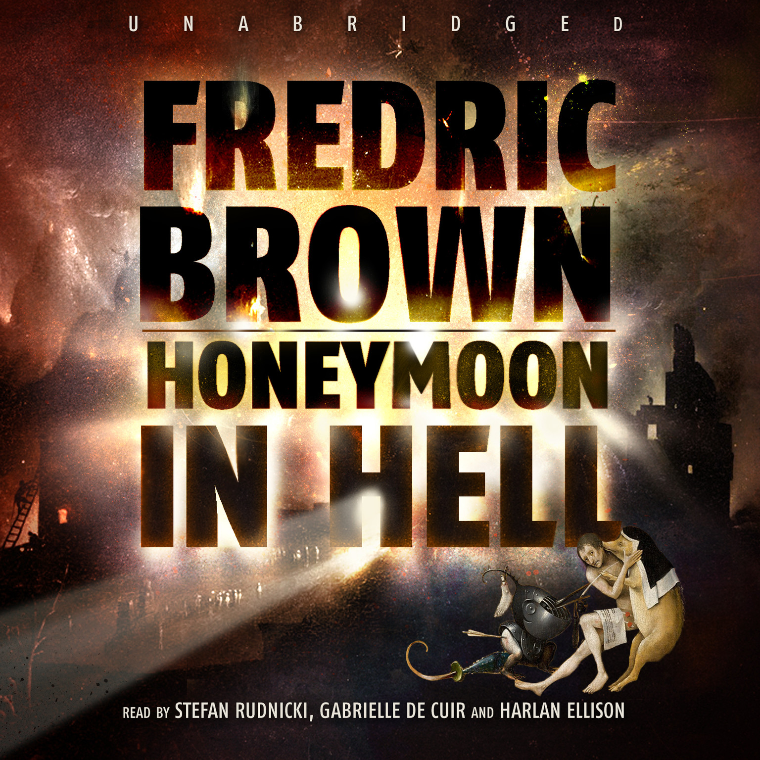 Printable Honeymoon in Hell Audiobook Cover Art
