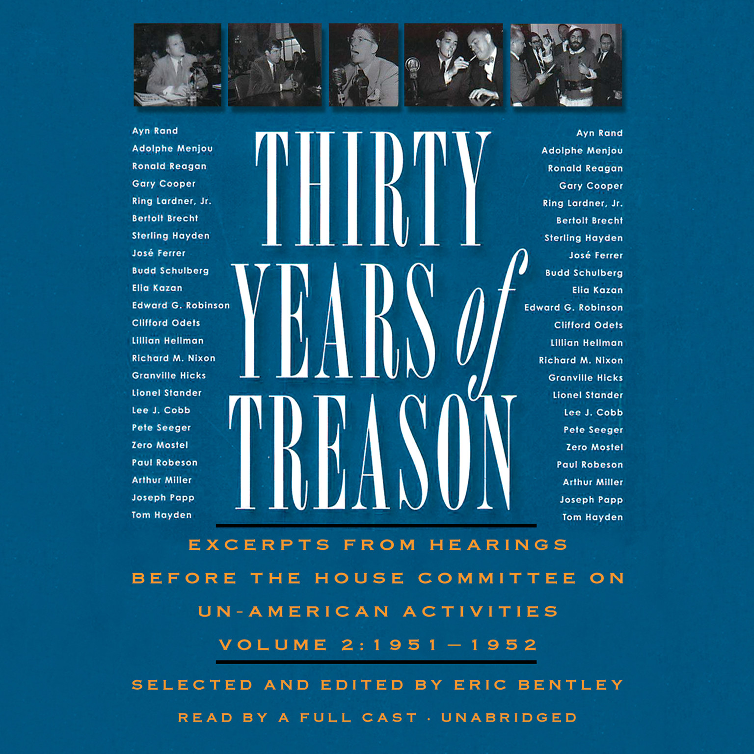 Printable Thirty Years of Treason, Vol. 2: Excerpts from Hearings before the House Committee on Un-American Activities, 1951–1952 Audiobook Cover Art