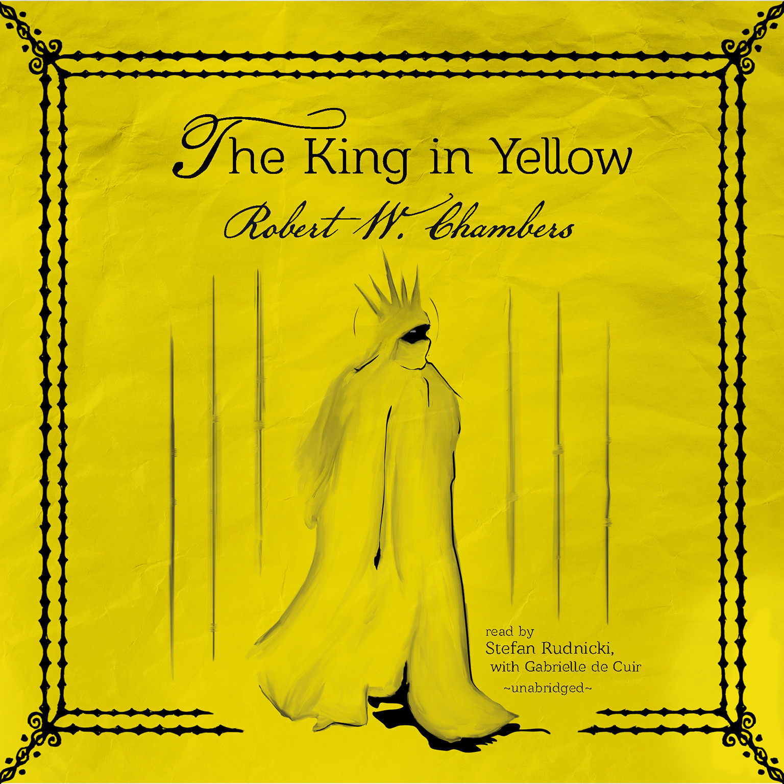Printable The King in Yellow Audiobook Cover Art