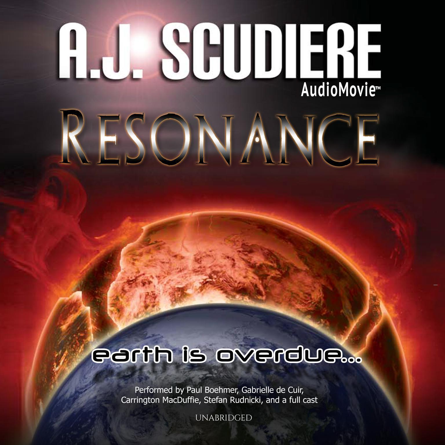 Printable Resonance Audiobook Cover Art