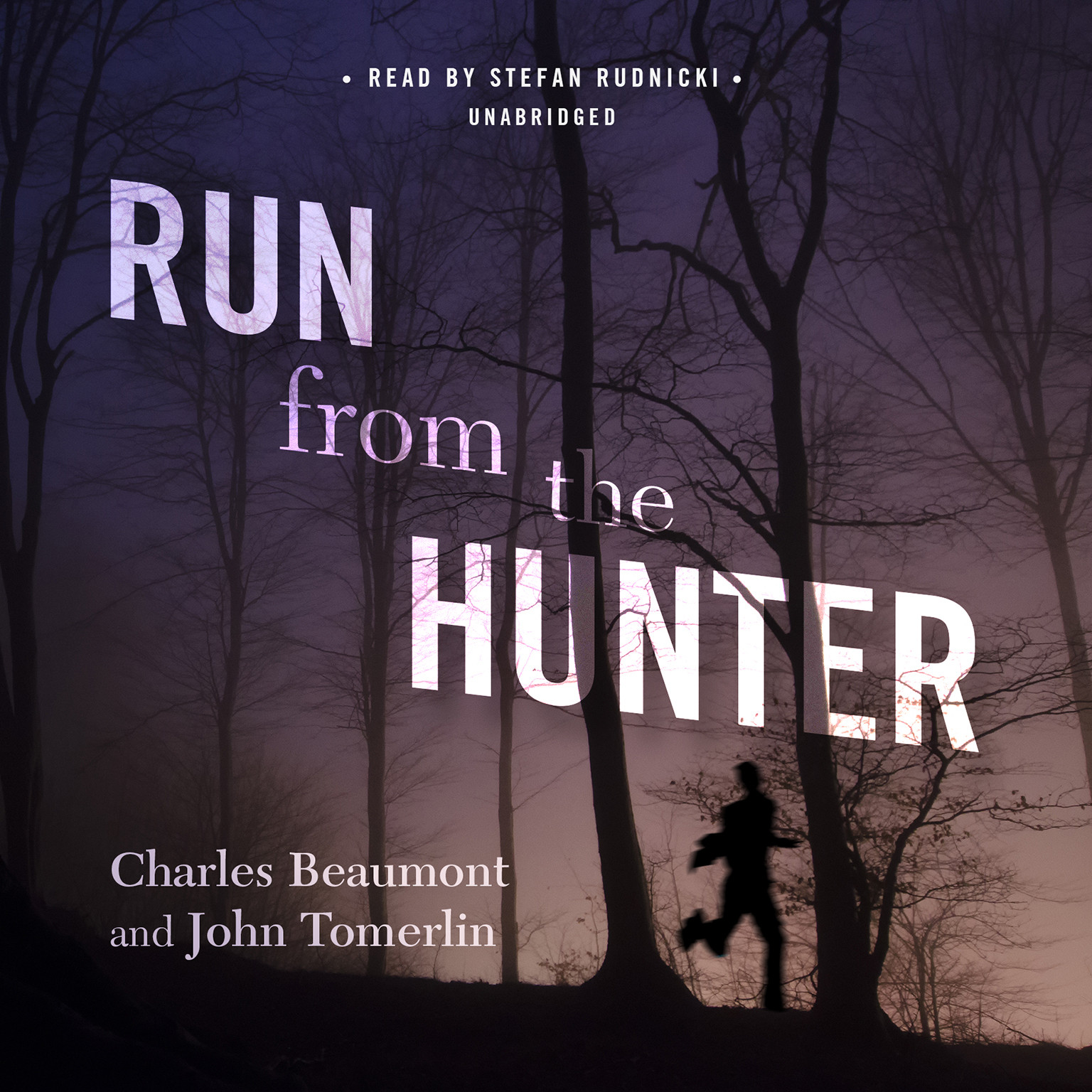 Printable Run from the Hunter Audiobook Cover Art