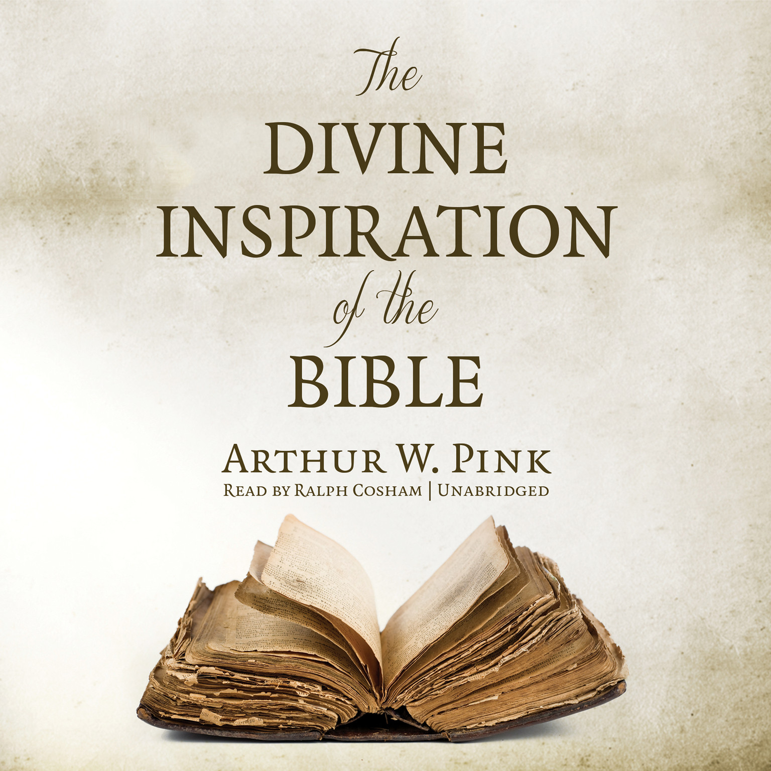 Printable The Divine Inspiration of the Bible Audiobook Cover Art
