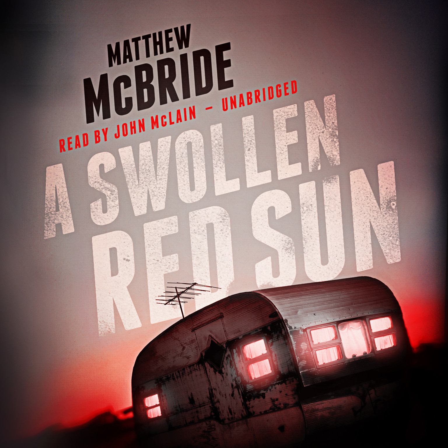 Printable A Swollen Red Sun Audiobook Cover Art