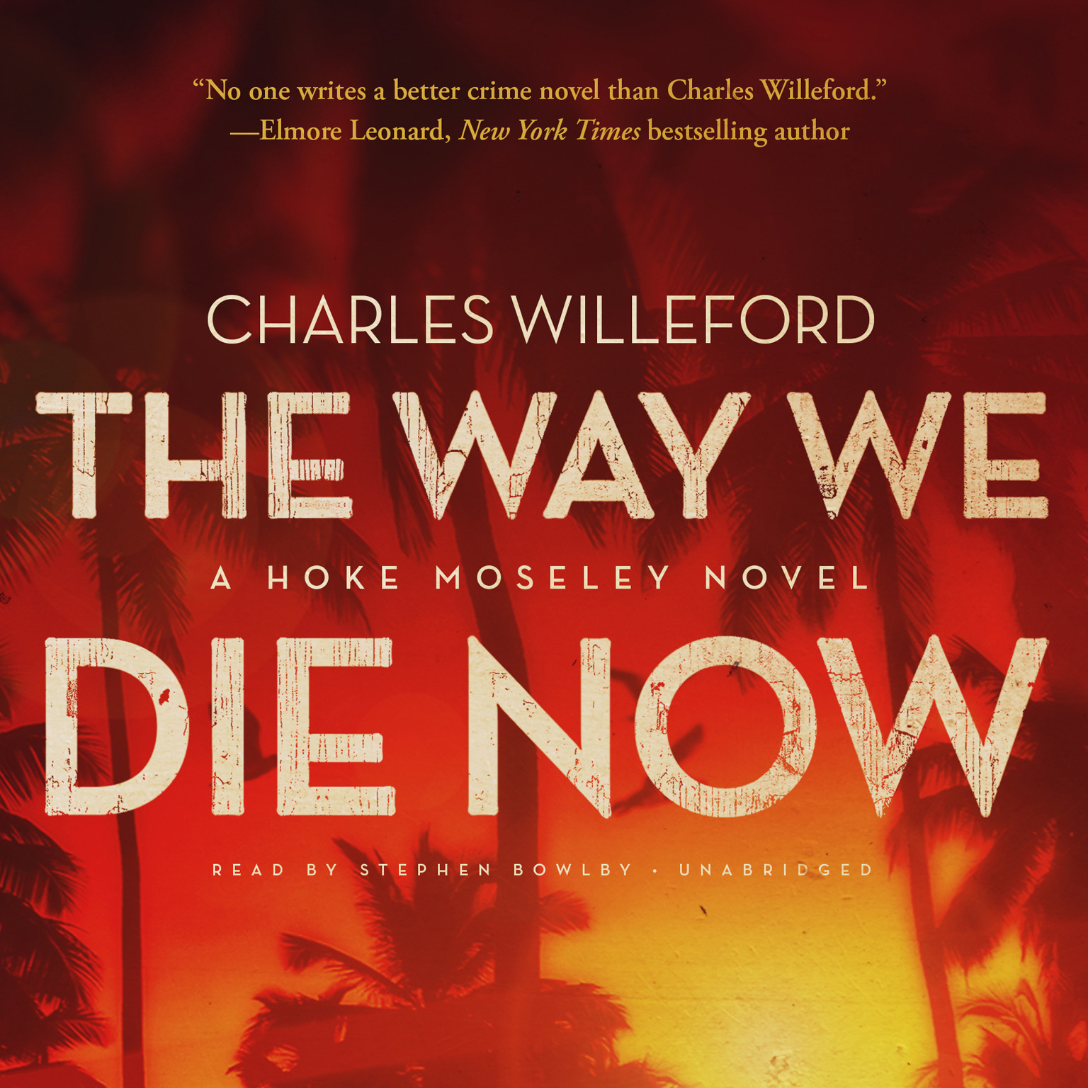 Printable The Way We Die Now: A Novel Audiobook Cover Art