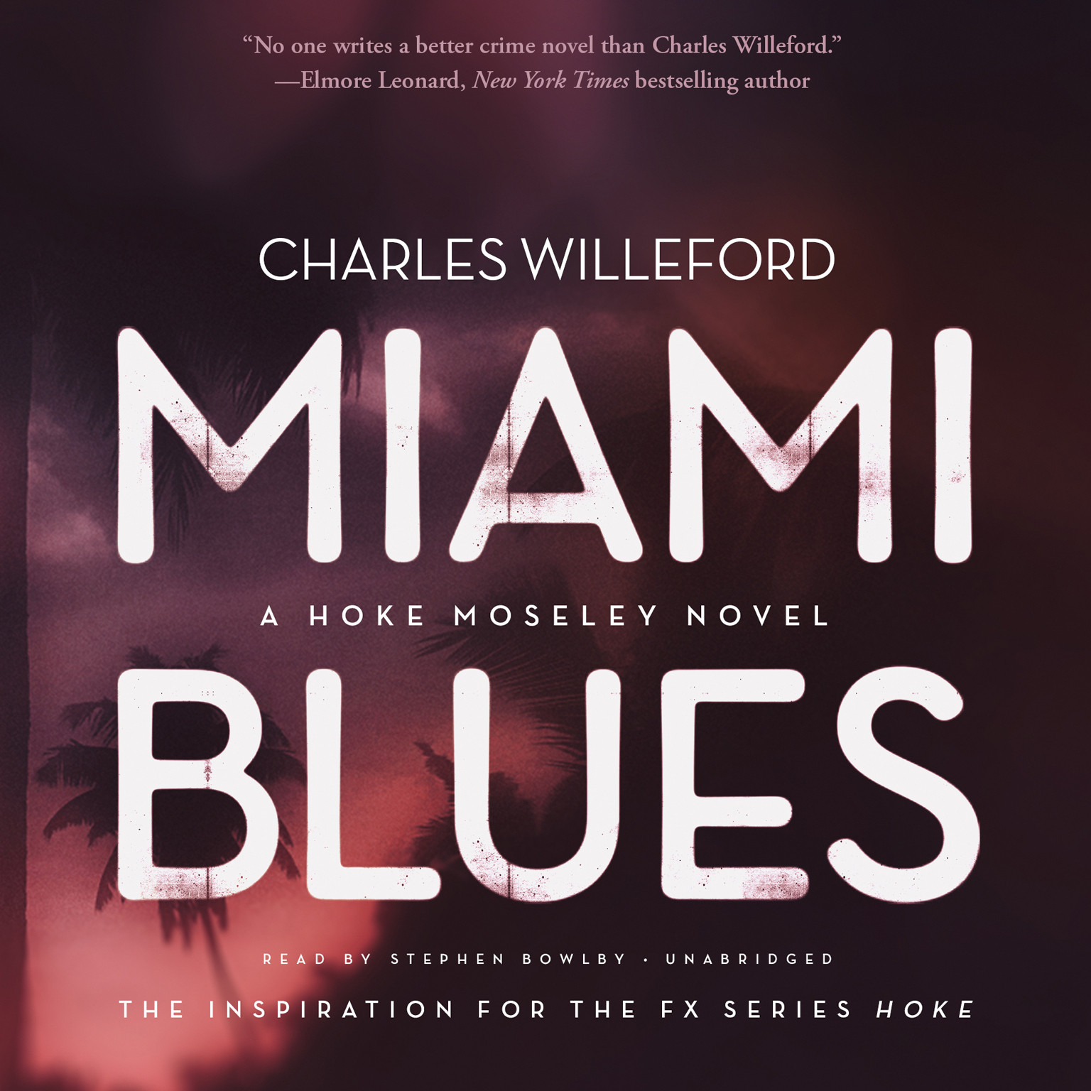 Printable Miami Blues: A Novel Audiobook Cover Art