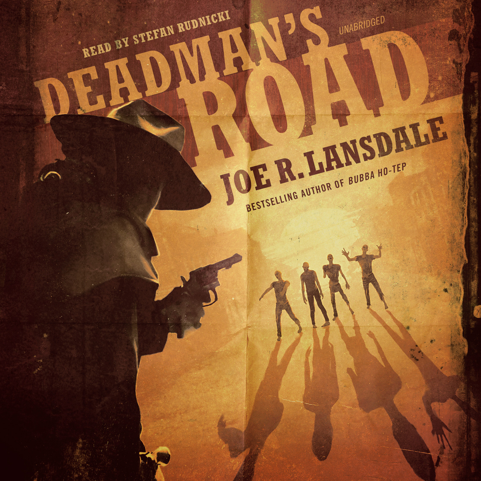 Printable Deadman's Road Audiobook Cover Art